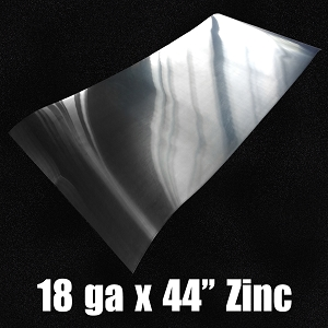 18 Ga Zinc Sheet-Solid Rolled 44.7