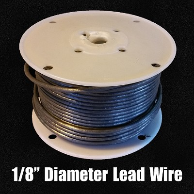 "Lead Wire 1/8"" (Full Spool)"