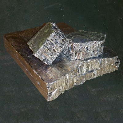 Bismuth 99.99% Ingot (10 lb. - Quantity of 10 Pound)
