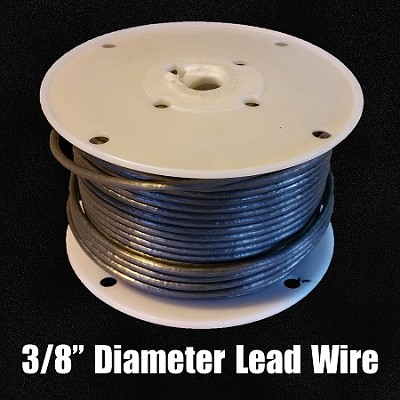 "Lead Wire 3/8"" (FULL SPOOL)"