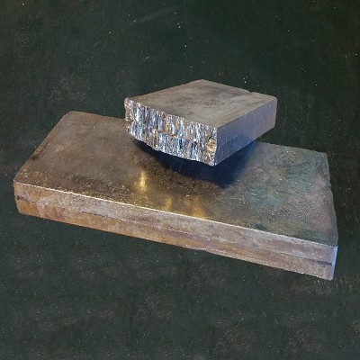 Bismuth 99.99% Ingot (50 lb. - Quantity of 50 Pounds)