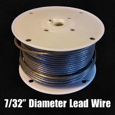 "Lead Wire 7/32"" (FULL SPOOL)"