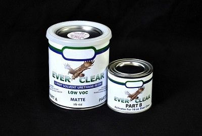 Ever Clear Sealer for Zinc Horizontal Surfaces - 2 Parts A / B