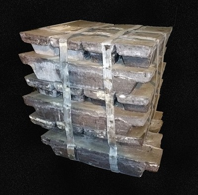 Lead Ingots 99.9% Min Purity 2000 pounds at $1.44 lb