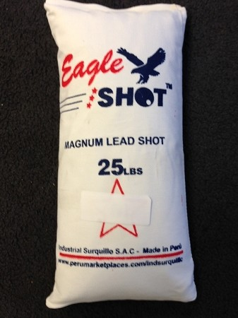 EAGLE MAGNUM LEAD SHOT #6  backorder till 4/14/20