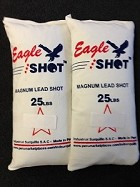 EAGLE MAGNUM LEAD SHOT 2 Bags Mix Sizes